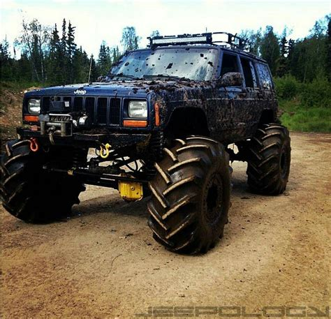 monster jeep cherokee custom jeep xj jeep cherokee mudder https www