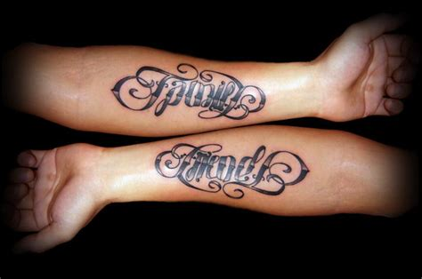 ambigram tattoos for couples 40 cool ambigram ideas hative