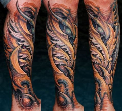 bio organic mech on pinterest biomechanical tattoo bio