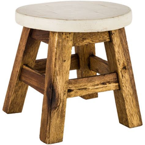 White Foot Stool by Antique White Wood Foot Stool Hobby Lobby