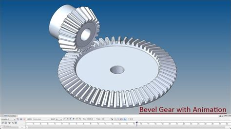 solid modelling  bevel gear  animation solid edge st tutorial