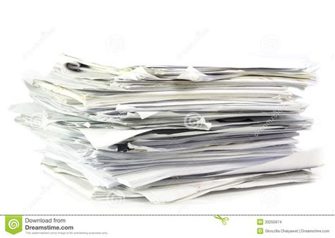 paper workflow piled up office work papers stock images image 33250974