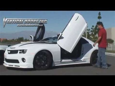 camaro with butterfly doors camaro with vertical doors inc lambo doors and corvette