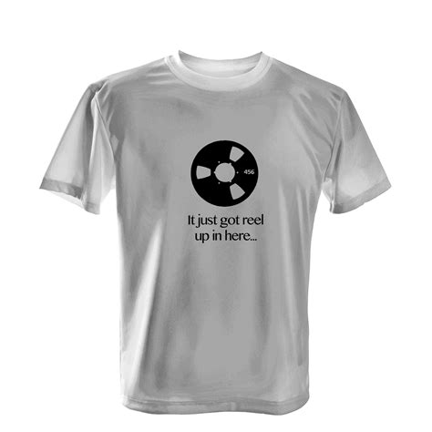 T Shirt Engineering audio engineering t shirts reel up in here melodynamic