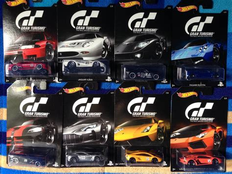 Hot Wheels Serie Gran Turismo 2016 Ford,nissan