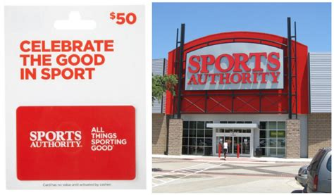 Buy Sports Authority Gift Cards - buy a 50 sports authority gift card get 10 amazon credit jungle deals blog