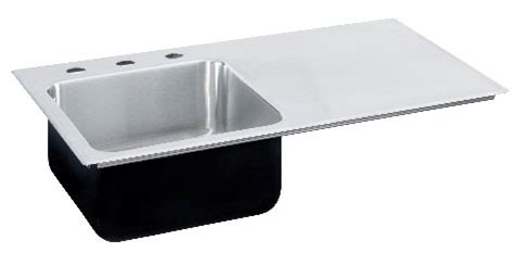 ada compliant sinks with drainboards stainless steel