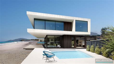 modern mansion beach house architecture the contemporary beach house wolf architects melbourne