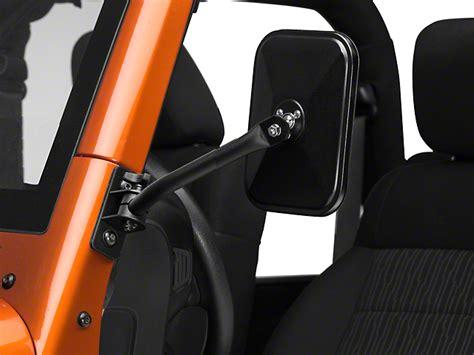 rugged ridge mirrors rugged ridge wrangler release mirror kit 11025 18 97 17 wrangler tj jk free shipping