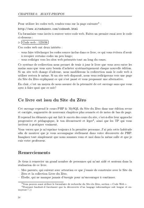 Concevez votre site web avec php et my sql mathieu nebra