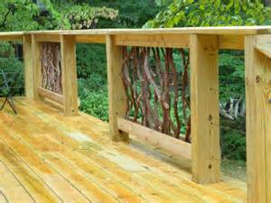Ideas For Deck Handrail Designs Deck Railing Ideas For Your Home Find One For You