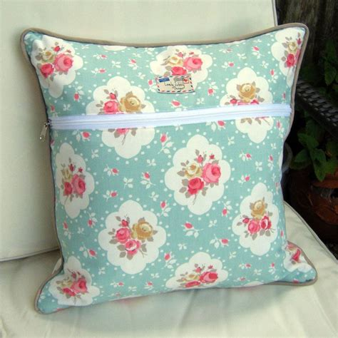 cushions shabby chic shabby chic floral cushion by lovely jubbly