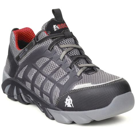 composite toe athletic shoes s rocky 174 waterproof trailblade athletic work shoes