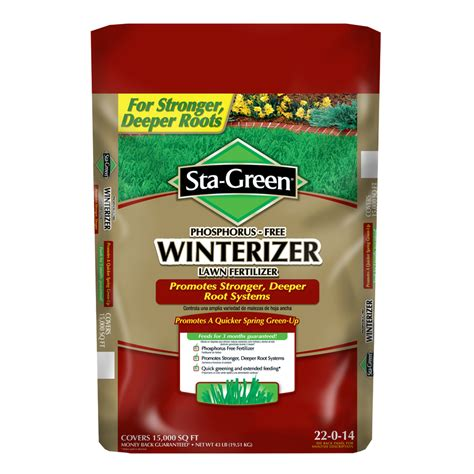 Lowe S Home Plans shop sta green 15 000 sq ft fall winter lawn fertilizer at