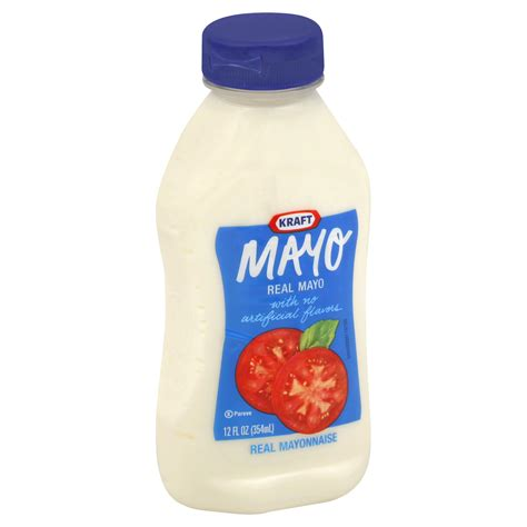 Kraft Real Mayo Mayonaise 354 Ml kraft mayo real 12 fl oz 354 ml