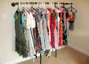 27 hundred dresses making a wall mounted garment rack life write now