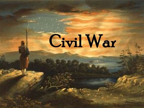 Civil War A Summary For Grades 5 8 Civil War Powerpoint Template