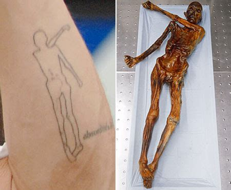 otzi the iceman tattoo brad s mummy s boy metro news