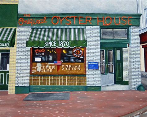 the original oyster house the original oyster house painting by ellen mitchell