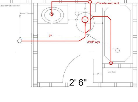 bathroom rough in layout help identifying basement rough in doityourself com