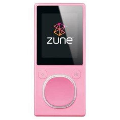 A More Pleasing Pink Zune by What S On My Ipod Kristi Gustafson Barlette