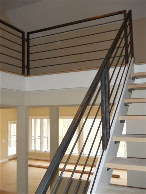 best 25 metal stair railing ideas only on