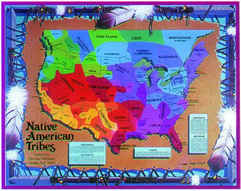 america map american tribes american tribes map all things