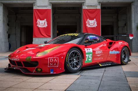 ferrari 488 modified asian auto racing team to field the ferrari 488 gt3 in
