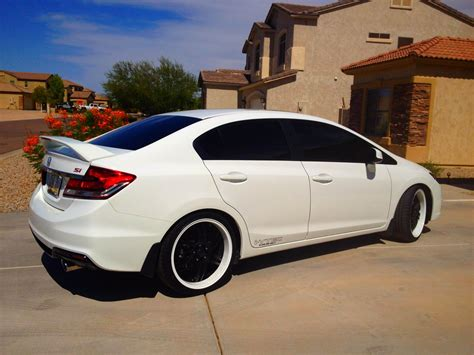 custom honda civic si 2013 honda civic si sedan custom pixshark com