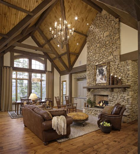 living room rustic 46 stunning rustic living room design ideas