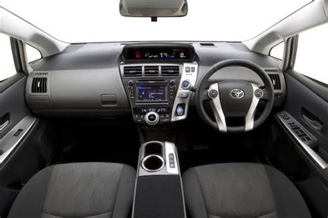 Toyota Prius Plus Interior by Toyota Prius 7 Seater Cars