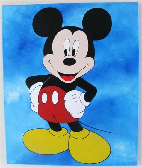 mickey mouse painting mickey mouse disney series baby room fiona clarke