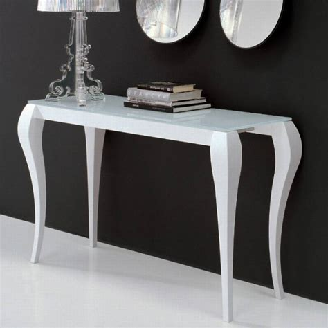 Ghost Console Table Miniforms Ghost Console Console Table Sofa Table Glass Furniture Ultra Modern