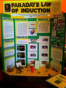 Facts About Carnations science fair middle school display board grade 5 example