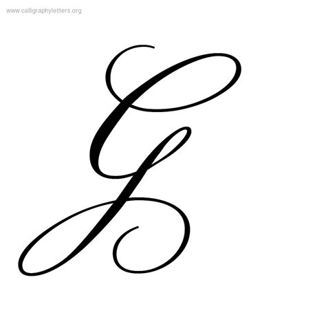 tattoo fonts letter g g calligraphy google search hand lettering pinterest