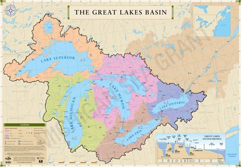 world map of great lakes about the great lakes michigan sea grant