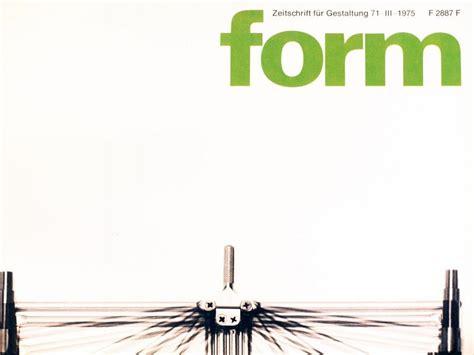 form design zeitschrift ruempelstilzchen form 71 zeitschrift f 252 r gestaltung 1975
