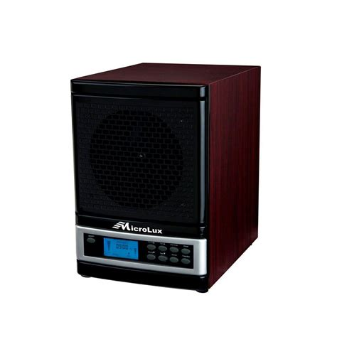 house air purifier cleaner microlux  stage dual uv ion germ kill filter  ebay