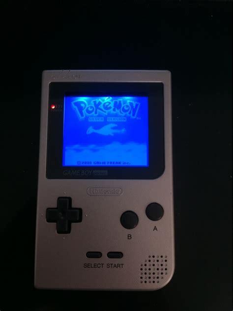 gameboy color light mod gameboy pocket backlight mod video games pinterest