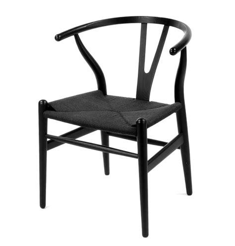 wishbone dining chair black black wishbone chair best home design 2018