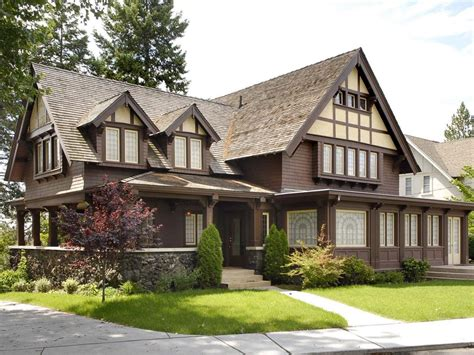 tudor style homes tudor revival cottage house plans