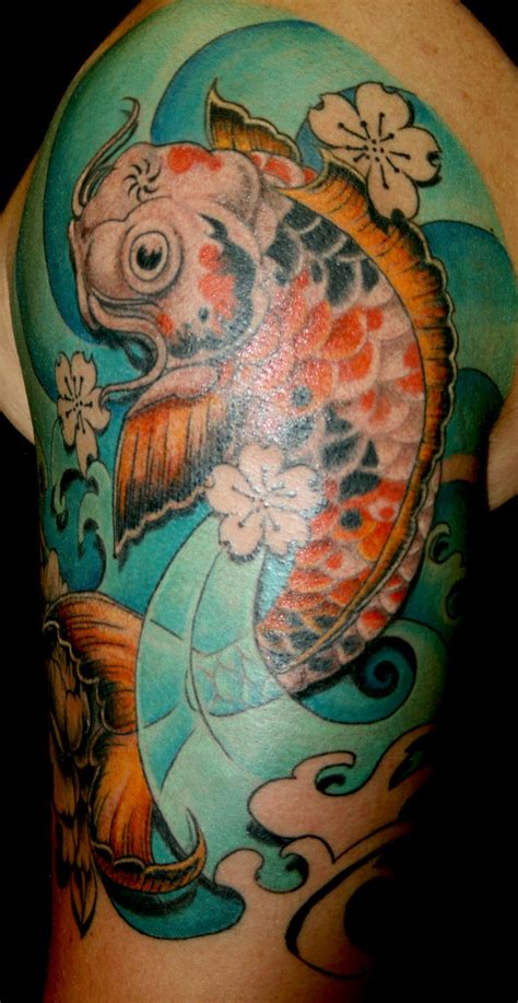 tattoo artist research paper paper koi by meg lee tattoonow