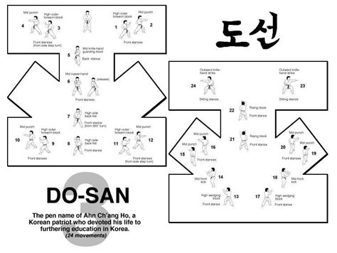 taekwondo pattern black belt do san