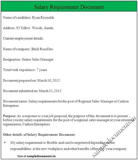 how to state salary history in cover letter how to state salary requirements in a cover letter