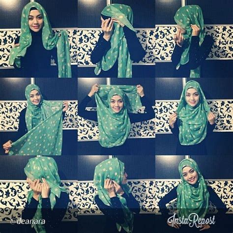 tutorial hijab jalan2 quick hijab tutorial full chest coverage now