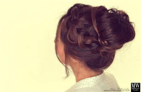 diy everyday hairstyles for long hair epic braid bun tutorial hairstyles for long medium hair