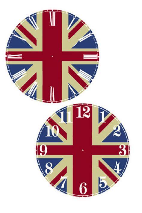 free printable cd clock faces cd clock printable clock face clock faces pinterest