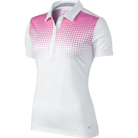 nike womens dri fit tour performance golf polo shirts
