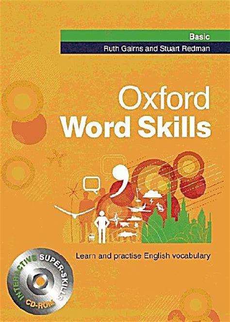 libro oxford word skills basic oxford word skills basic w cd rom buch portofrei