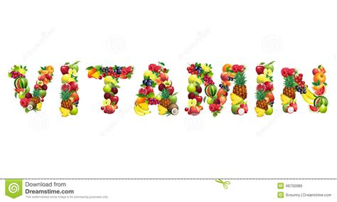 fruit 5 letter word word vitamin composed of different fruits with leaves